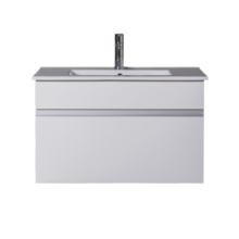 Wall Hung 750mm 1 Drawer White