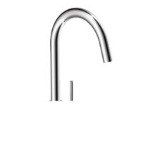 GOOSENECK KITCHEN MIXER CHROME-PLATED